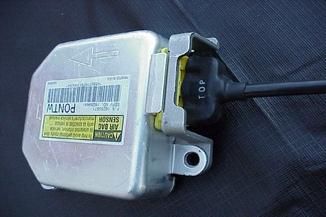 airbag module crash data cleared